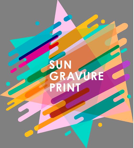 サングラビア - SUN GURAVURE PRINT